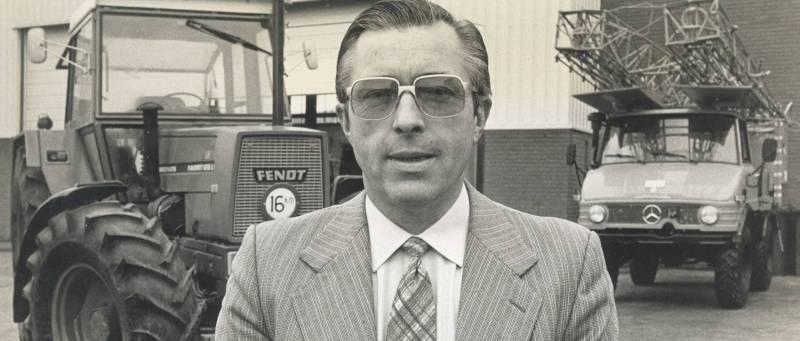 Onze oprichter, de heer Jan Frissen.