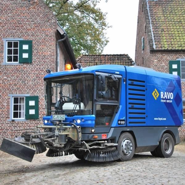 Maxi Kompaktkehrmaschine High Speed Euro 6